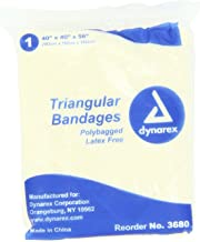 individually wrapped triangular bandages