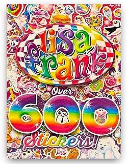 Lisa Frank Sticker Book Over 600 Stickers