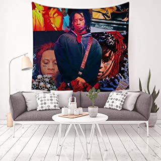 LCCKSS Trippie Rap 1400 Redd Picture Tapestry 3D Wall Hanging Home Decor Blanket Room Decoration 59.1 X 59.1 Inch