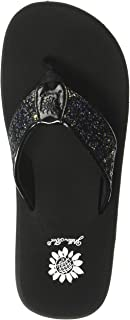 Yellow Box Women's Feliks Sandal, Black, 9.5 M US