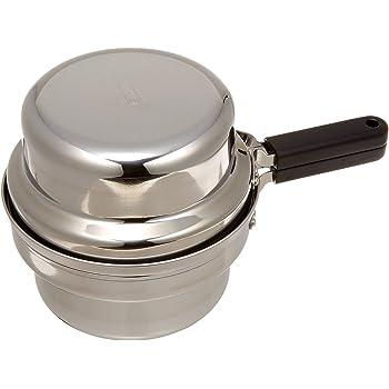 オークス 日本製 IH対応 片付け簡単 天ぷら鍋セット オイルポット 温度計付 T23