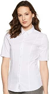 Marks & Spencer Women's Plain Slim fit Shirt