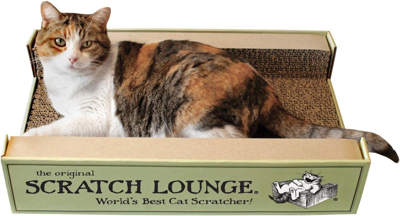 The Original Scratch Lounge Popular overseas - Includ Scratcher Worlds Los Angeles Mall Cat Best