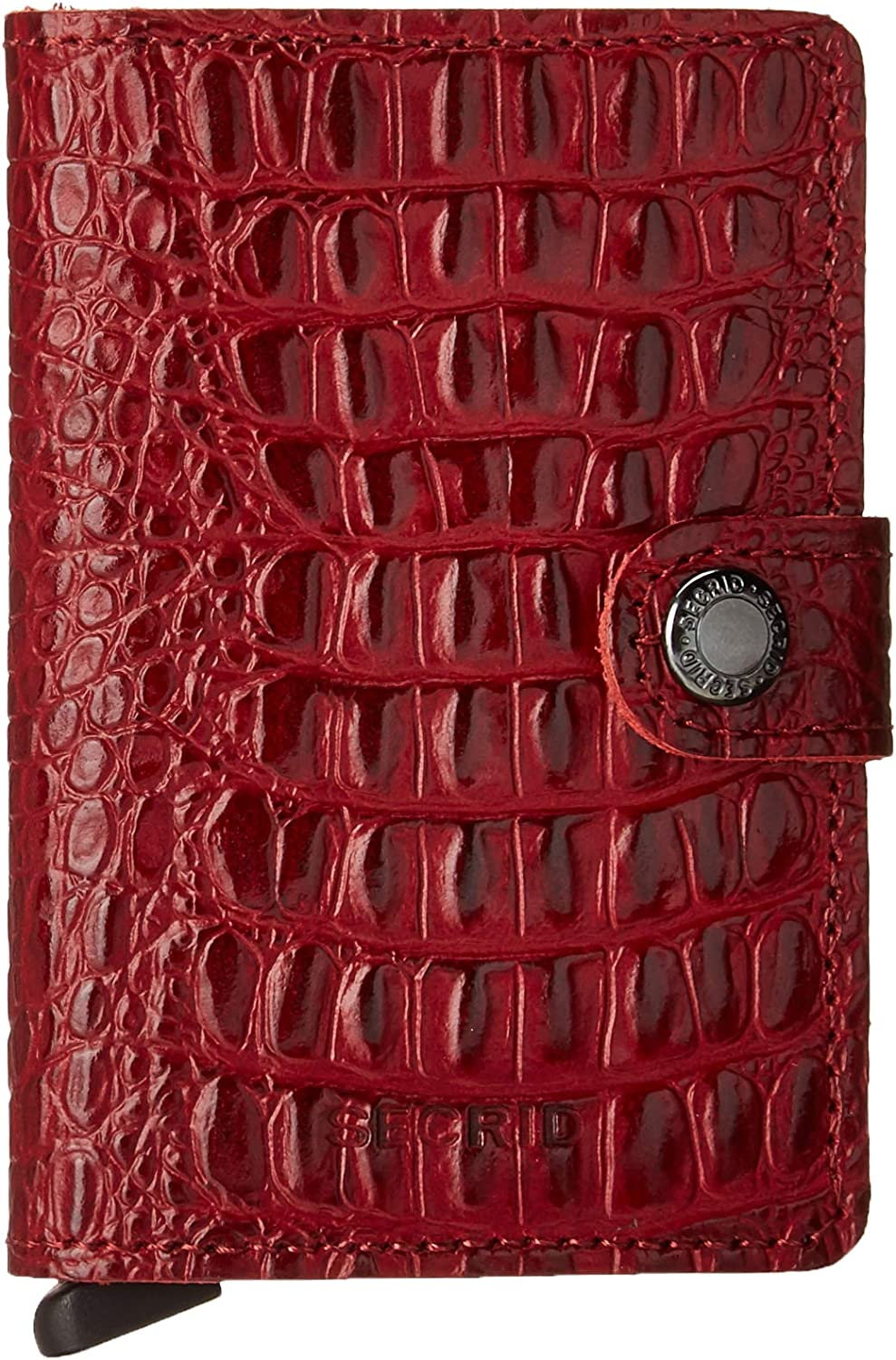 Secrid Mini Wallet Nile Ruby RFID Genuine Leather Safe Challenge the lowest price Holds Outlet ☆ Free Shipping