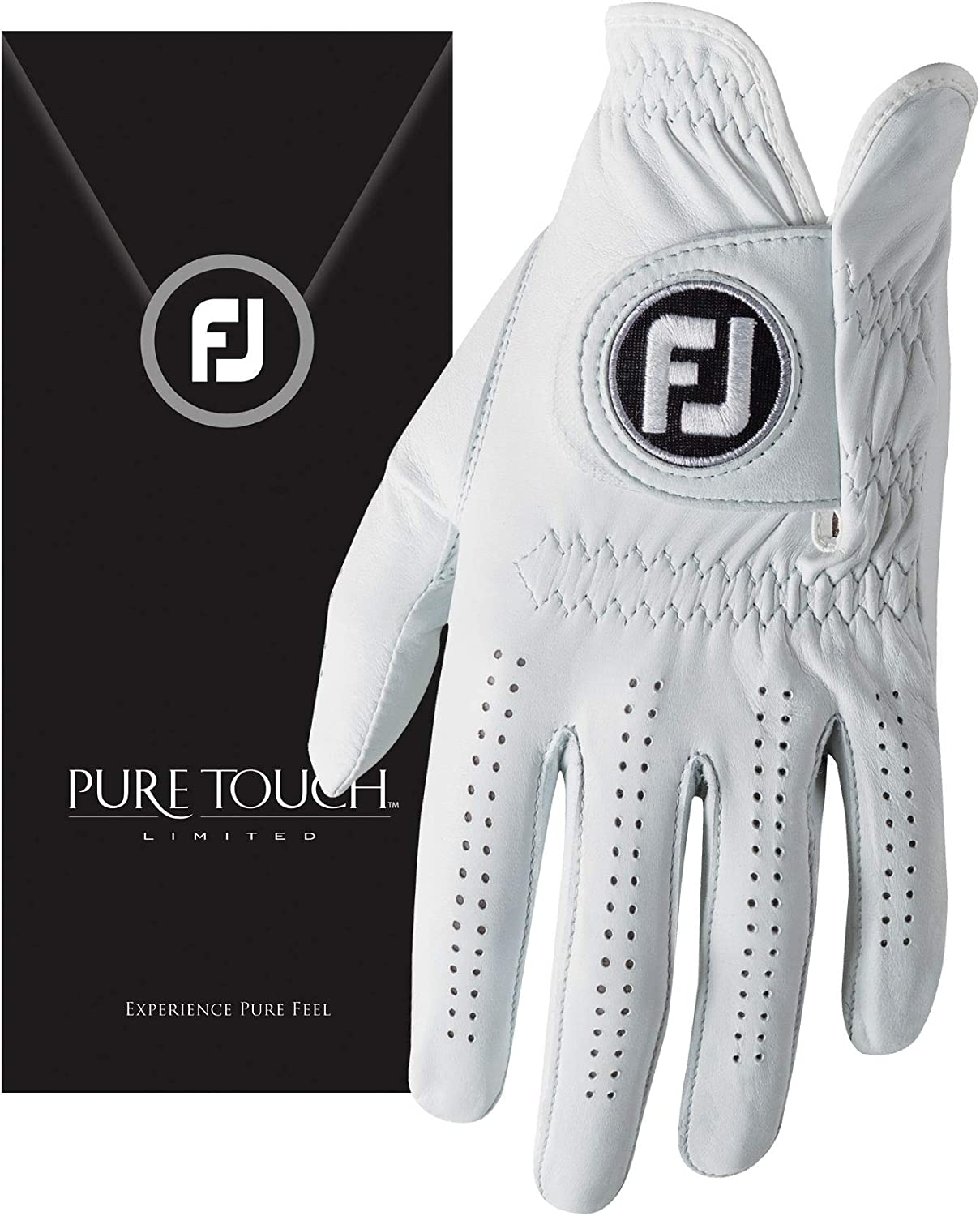 FootJoy Men's Pure Touch Limited Medium White Golf Cadet Our shop OFFers the best Popularity service Gloves
