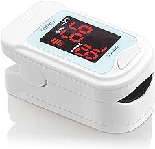 dretec(ドリテック) パルスオキシメーター 酸素濃度計 医療用 看護 家庭用 介護 国内検査済 OX-200BL(ブルー)