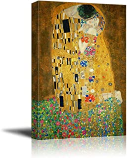 wall26 - The Kiss by Gustav Klimt Painting - Canvas Art Wall Decor - 24