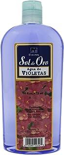Sol de Oro Agua de Violetas 16oz