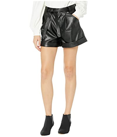 Blank NYC High-Rise Cuffed Shorts w/ Self Tie (Lonestar) Women
