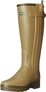 Le Chameau Footwear Men's Chasseur Cuir Rain Boot