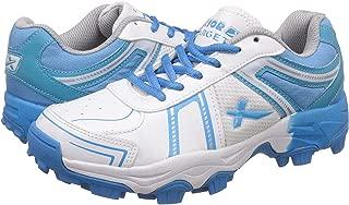 KD Vector Cricket Shoes Rubber Spike Target Hockey Sports Studs Indoor Out Door Trek Shoes