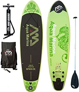 Aqua Marina Inflatable SUP Stand Up Paddle Boards Kit | Board, Pump, Bag