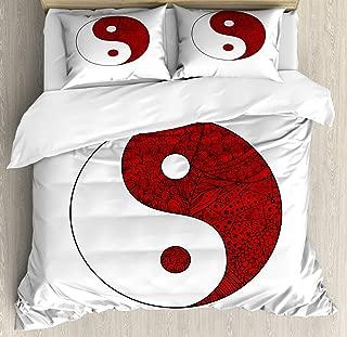 yin yang zentangle