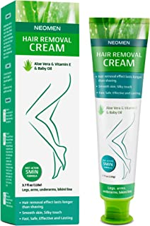 Neomen Hair Removal Cream – Premium Depilatory Cream – Skin Friendly Painless..