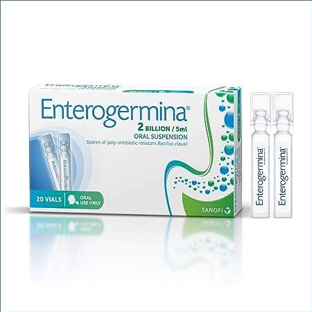 Enterogermina 2 Mil Millones 0 2 Fl Oz 0 17 Onzas Líquidas Suspensión Oral X 20 Viales Número 1 Del Mundo Probiótico Un Probiótico Para Niños Que Ayuda A Aliviar La Diarrea Y Sus