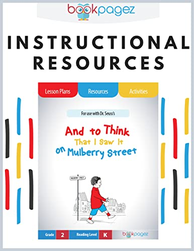 """Teaching Resources for """"And to Think That I Saw It on Mulberry Street"""" - Lesson Plans, Activities, and Assessments"""