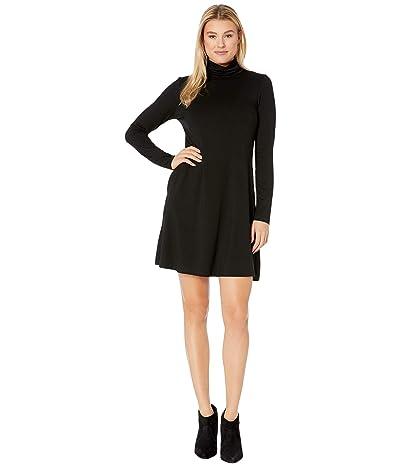 Karen Kane Quinn Turtleneck Dress (Black) Women