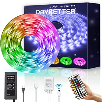 IR Remote+DC 12V Power Waterproof 5M RGBW 60Leds//M 5050 SMD 300 LED Strip Light