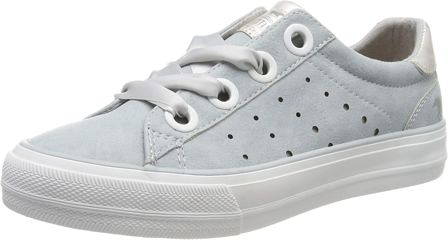 Mustang Women's 1272-302-852 Low-Top Sneakers bluee (Heaven 852) 5 UK