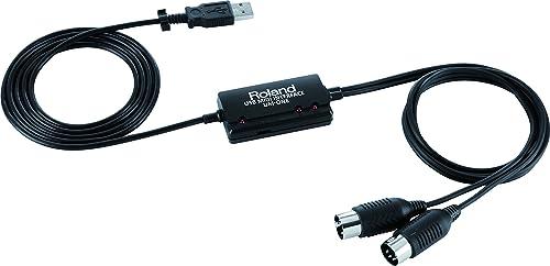 Roland UM-ONE MK2 Interface USB MIDI, Compatible avec les systèmes d'exploitation Mac, Windows et iOS sur iPad via le...