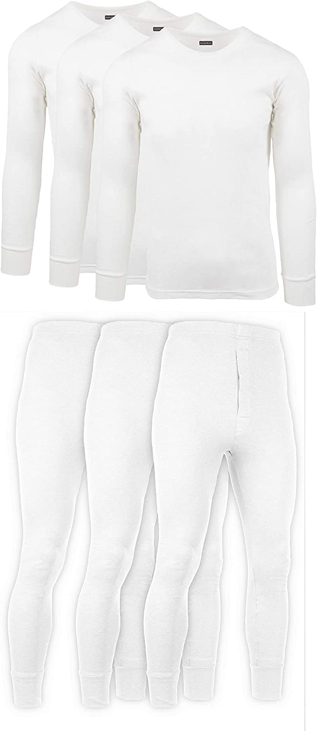Andrew Scott Mens 2 Piece 6 + Base Layer Special price Lon Long Ranking TOP8 Sleeve