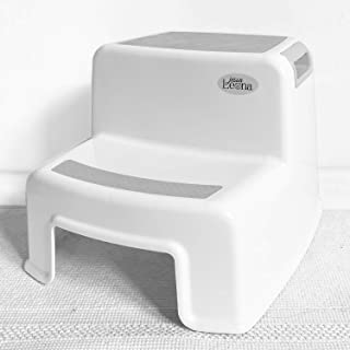 Dual Height 2 Step Stool for Kids | Toddler's Stool for Potty Training and Use in..