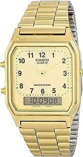 Men's AQ-230GA-9D Gold Analog & Digital with Index Watch