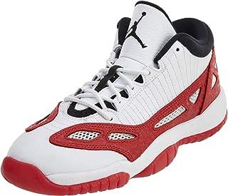 Air Jordan 11 Retro Low BG Big Kid's Basketball Shoes White/Gym Red