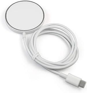 MagSafe/iPhone12 Qi/iPhone8以降、アンドロイド対応機種用 非接触ワイヤレス 急速充電器 USB-Cタイプ 無印・シンプル・コンパクト TM-001