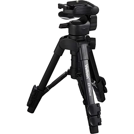 Velbon Ex Macro Dreibeinstativ Kamera