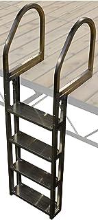 Boondock 4 Step No Slip Aluminum Dock Ladder