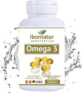 Omega 3 capsulas fish oil   Aceite de Pescado 1000 mg   Mayor pureza y frescura Gran potencia EPA DHA   Complemento alimenticio Premium   100% Garantía y Envío Gratuito