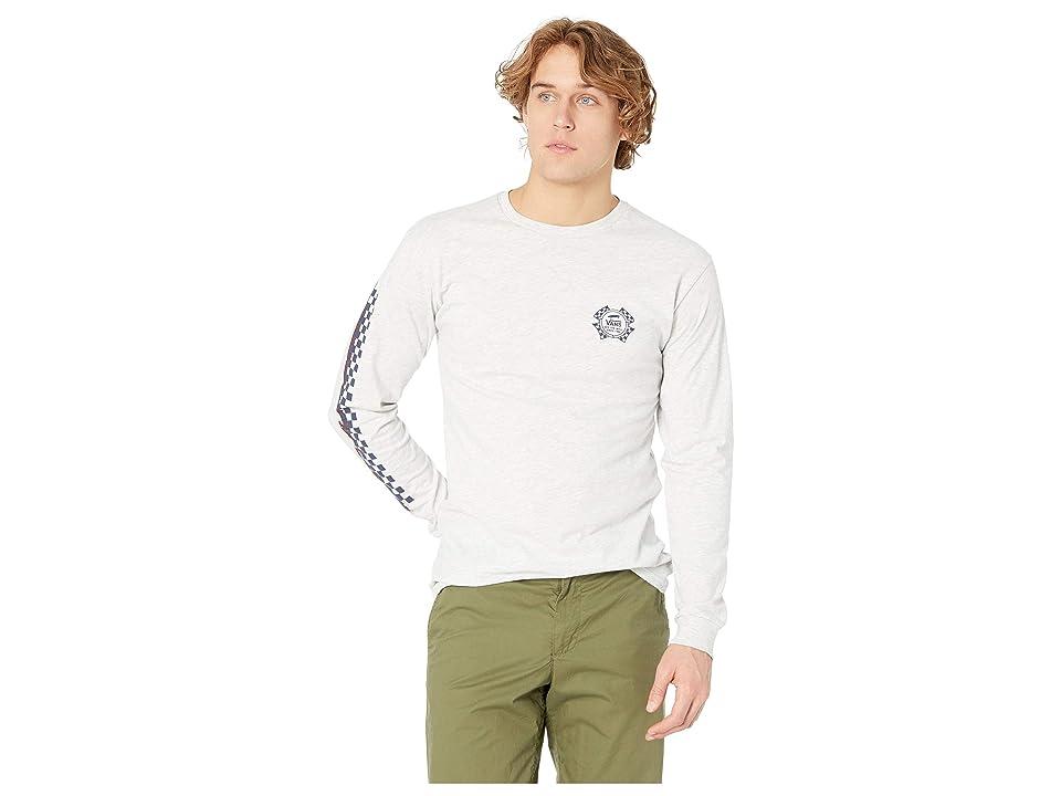 12f6d7cd Vans Check It Long Sleeve T-Shirt (Ash Heather) Men