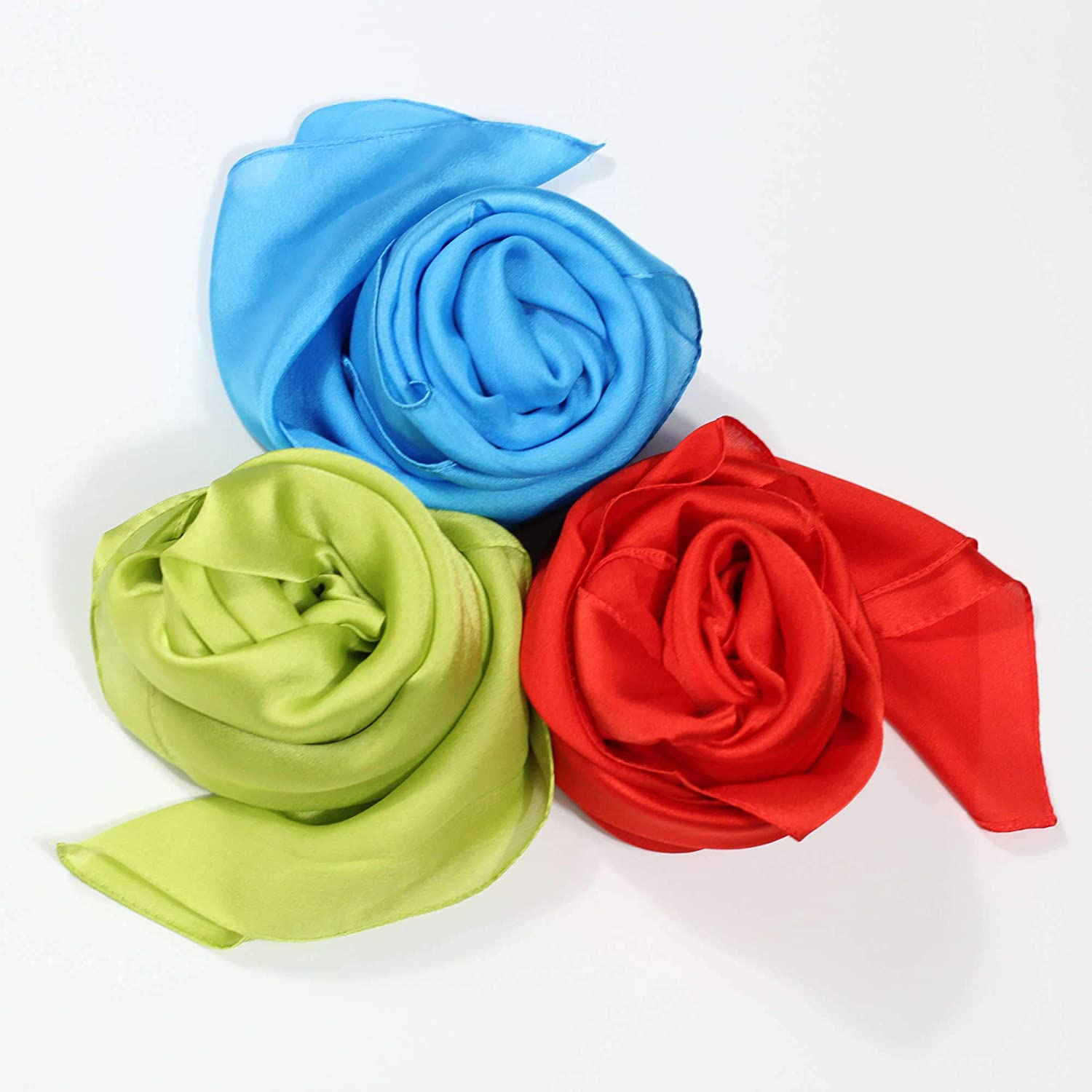 Lulu's Playhouse Play Limited time trial price Scarves Set of - 3 Virginia Beach Mall 35-in Waldorf Mo Square