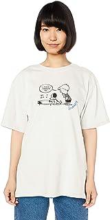 [アースミュージックアンドエコロジー] ビッグTシャツ ・Peanuts/earthBIGTシャツ レディース