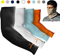 ARMORAY Arm Sleeves for Men or Women Basketball Golf Running Football Cycling