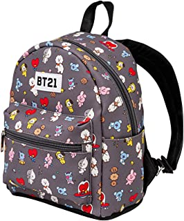 00058 BT21 Mochila Fashion (Pequeña), Multicolor