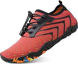 kealux Men Women Multifunctional Barefoot Quick-Dry Water Shoes Sports Sneakers