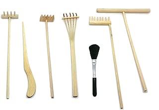 vimeka Sand Zen Garden Tool Mini Kit,Relieve Nerves,Extended Thinking