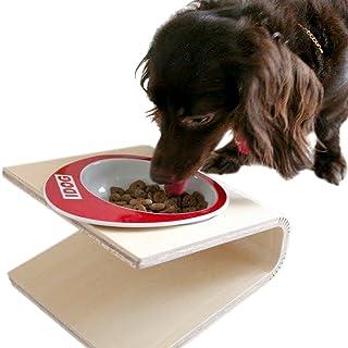 iDog Living Keatキート Sサイズ フードボウル別売 ホワイト 犬 食器台