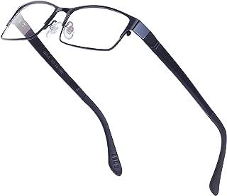 Huicai Gafas de lectura unisex retro imitaci/ón madera grano gafas de lectura resorte de pl/ástico espejo patas gafas de lectura redondas cl/ásico