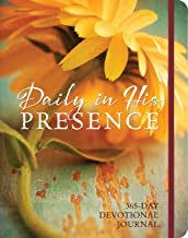Daily in His Presence: A 365-Day Devotional Journal