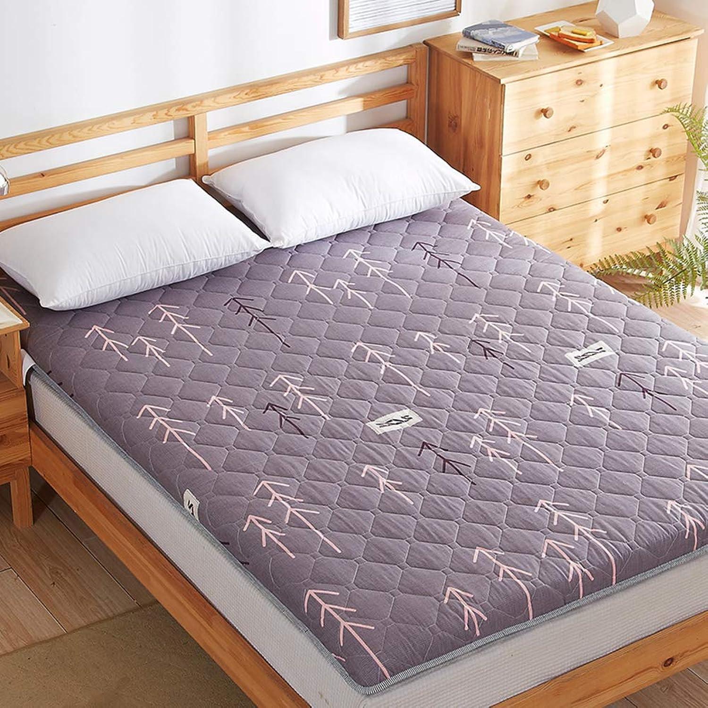 Tatami Padded Mat,Padded Mattress,Mattress Tweezers 1.2m Sponge Double Student Dormitory Tatami-k 100x200cm(39x79inch)