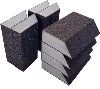 M-jump 8 Pack Single Sanding Sponge, Coarse/Medium 4 Different Specifications Sanding..