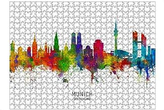 artboxONE Ravensburger-Puzzle L (500 Teile) Städte / Münch