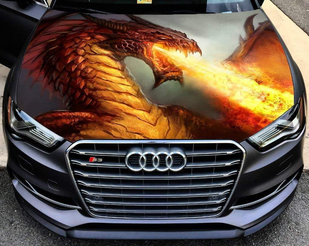 Stikka Vinyl Car Hood Wrap Full Decal Color Dra Graphics Albuquerque Mall Fantasy specialty shop