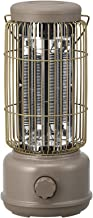 FLAMY Calefactor,Interiores/Exteriores,Infrarrojos,Calentador De Carbono,portátil, Potencia Máxima 600W, Calentamiento De Tubo De Carbono, Control De Botón Giratorio, Apagado Automático Al Caer