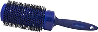 Spornette 3 Inch Long Smooth Operator Round Brush with Crimped Tourmaline Ionic Bristles & Capless Extended Ceramic Barrel (#4475) - Round Brush for Blow Drying, Styling, Waving & Curling Long Hair.