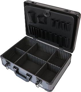 comprar comparacion HMF 14601-02 Maletín de Herramientas, Compartimientos Individuales, Vacío, Aluminio, 46 x 15 x 33 cm