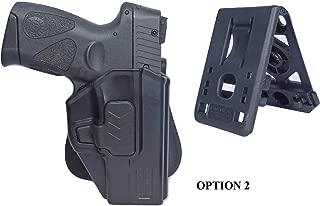 Tactical Scorpion Gear Slimline Modular Level II Retention Paddle Holster: fits Taurus Millennium G2 PT111 PT132 PT138 PT140 PT145 PT745 G2c